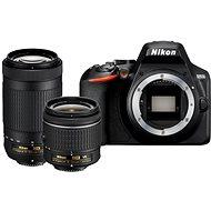Nikon D3500 čierny + 18 – 55 mm VR + 70 – 300 mm VR - Digitálny fotoaparát