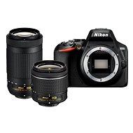 Nikon D3500 čierny + 18 – 55 mm + 70 – 300 mm - Digitálny fotoaparát