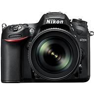 Nikon D7200 čierny + objektív 18–105 VR AF-S DX - Digitálny fotoaparát