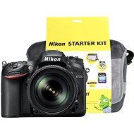 Nikon D7200 čierny + objektív 18–105 VR AF-S DX + Nikon Starter Kit - Digitálny fotoaparát