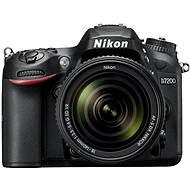 Nikon D7200 čierny + objektív 18–140 VR AF-S DX - Digitálny fotoaparát