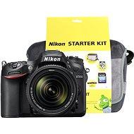 Nikon D7200 čierny + objektiv 18–140 VR AF-S DX + Nikon Starter Kit - Digitálny fotoaparát