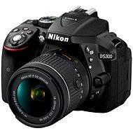 Nikon D5300 + Objektív 18 – 55 AF-P VR - Digitálny fotoaparát