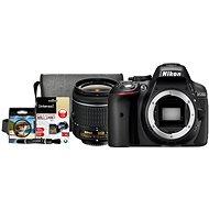 Nikon D5300 + Objektív 18–55 AF-P VR + Nikon Starter Kit - Digitálny fotoaparát