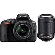 Nikon D5500 + Objektívy 18-55 AF-S DX VR II + 55-200mm AF-S DX VR II - Digitálna zrkadlovka