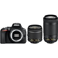 Nikon D5600 + AF-P 18–55 mm VR + 70–300 mm VR - Digitálny fotoaparát