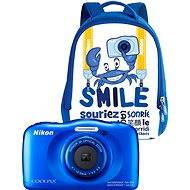 Nikon COOLPIX W100 modrý backpack kit - Detský fotoaparát