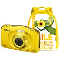 Nikon COOLPIX W100 žltý backpack kit