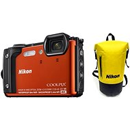 Nikon COOLPIX W300 oranžový Holiday Kit