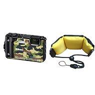 Nikon COOLPIX W300 maskáčový + 2 v 1 plávajúci popruh - Digitálny fotoaparát