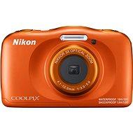 Nikon COOLPIX W150 oranžový backpack kit - Detský fotoaparát