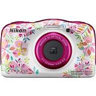 Nikon COOLPIX W150 kvetinový backpack kit - Detský fotoaparát