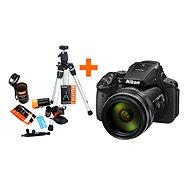 Nikon COOLPIX P900 + Rollei Starter Kit - Digitálny fotoaparát