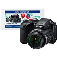 Nikon COOLPIX B500 čierny + Alza Foto Starter Kit - Digitálny fotoaparát