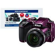 Nikon COOLPIX B500 fialový + Alza Foto Starter Kit - Digitálny fotoaparát