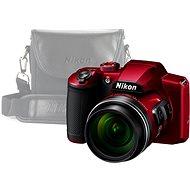 Nikon COOLPIX B600 červený + puzdro - Digitálny fotoaparát