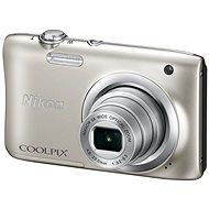 Nikon COOLPIX A100 strieborný - Digitálny fotoaparát