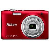 Nikon COOLPIX A100 červený - Digitálny fotoaparát