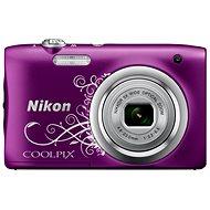 Nikon COOLPIX A100 fialový lineart - Digitálny fotoaparát