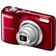 Nikon COOLPIX A10 červený - Digitálny fotoaparát