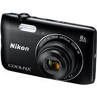 Nikon COOLPIX A300 čierny - Digitálny fotoaparát