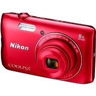 Nikon COOLPIX A300 červený - Digitálny fotoaparát