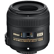 NIKKOR 40 mm f/2,8 AF-S ED DX MICRO - Objektív