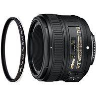 NIKKOR 50 mm f/1,8G AF-S + UV filter HOYA 58 mm PRO 1D DHMC - Objektív