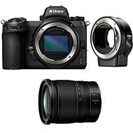 Nikon Z6 II + 24–70 mm f/4 S + FTZ adaptér - Digitálny fotoaparát