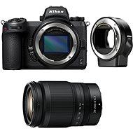 Nikon Z6 II + 24-200mm f/4-6.3 VR + FTZ adaptér - Digitálny fotoaparát
