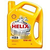 SHELL HELIX HX6 10W-40 4 l - Motorový olej