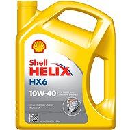 Shell HELIX HX6 10W-40 5 l - Motorový olej