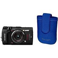 Olympus TOUGH TG-5 čierny + Tough Neoprene Case - Digitálny fotoaparát