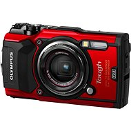 Olympus TOUGH TG-5 červený + Power Kit - Digitálny fotoaparát
