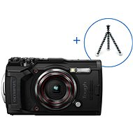 Olympus TOUGH TG-6 + POWER KIT čierny - Digitálny fotoaparát