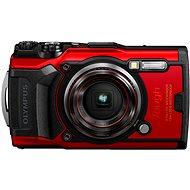 Olympus TOUGH TG-6 červený - Digitálny fotoaparát