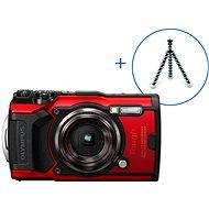 Olympus TOUGH TG-6 + POWER KIT červený - Digitálny fotoaparát
