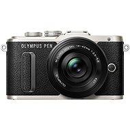 Olympus PEN E-PL8 čierny + Pancake objektív ED 14-42EZ čierny - Digitálny fotoaparát