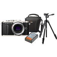 Olympus PEN E-PL8 telo čierne + Olympus Starter Kit - Digitálny fotoaparát