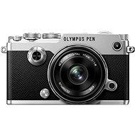 Olympus PEN-F strieborný + 17 mm - Digitálny fotoaparát