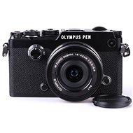 Olympus PEN-F čierny + 14-42mm EZ - Digitálny fotoaparát