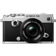 Olympus PEN-F strieborný + 14-42mm EZ - Digitálny fotoaparát