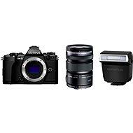 Olympus E-M5 Mark II telo + objektív 12 – 50 mm ED čierny/čierny - Digitálny fotoaparát