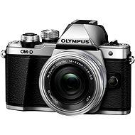Olympus E-M10 Mark II silver/silver + ED 14-42mm EZ - Digitálny fotoaparát