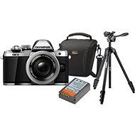 Olympus E-M10 Mark II silver/silver + ED 14-42mm EZ + Olympus Starter Kit - Digitálny fotoaparát