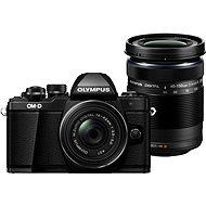 Olympus E-M10 Mark II Pancake black + ED 14-42EZ čierny + 40-150mm R čierny - Digitálny fotoaparát