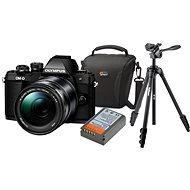 Olympus E-M10 Mark II black/black + ED 14-150 II + Olympus Starter Kit - Digitálny fotoaparát