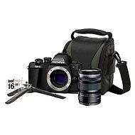 Olympus E-M10 Mark II čierny + M. ZUIKO DIGITAL ED 12-50 mm f/3,5 – 6,3 EZ + Lens memory kit - Digitálny fotoaparát