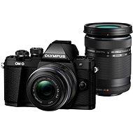 Olympus E-M10 Mark II čierny/čierny + 14–42 mm + 40–150 mm II R DZ - Digitálny fotoaparát