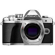 Olympus E-M10 Mark III telo strieborné - Digitálny fotoaparát